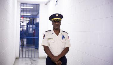 Depuis juin 2018, Noel Charles Nazaire occupe le poste de Directeur général de l'Administration pénitentiaire (DAP) en Haïti. © David Nieto / UN / MINUJUSTH, 2018