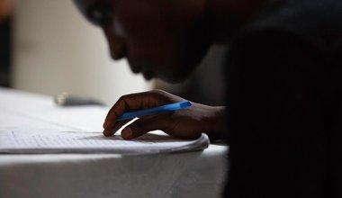 Découvrez plus de 33 fables écrites par de jeunes Haïtiens dans le cadre d'unu projet mené par la MINUJUSTH et l'Unesco #IlEtaitUneFable. © Leonora Baumann / UN / MINUJUSTH, 2018