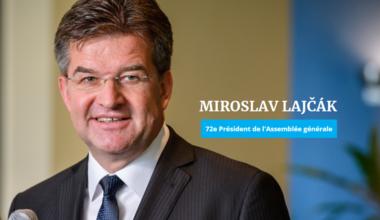 Pour Miroslav Lajčák, Président de l'Assemblée générale, les Nations Unies ont besoin d'une nouvelle approche pour la paix. © UN Photo