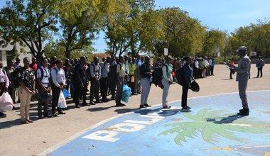 Rentrée : la 29ème promotion des aspirants de la PNH vient renforcer les effectifs