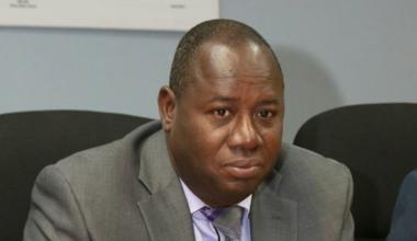 Doyen du Tribunal de Première Instance de Port-au-Prince, Bernard Saint-Vil aborde le sujet de la détention préventive prolongée dans les prisons haïtiennes. © Bernard Saint-Vil