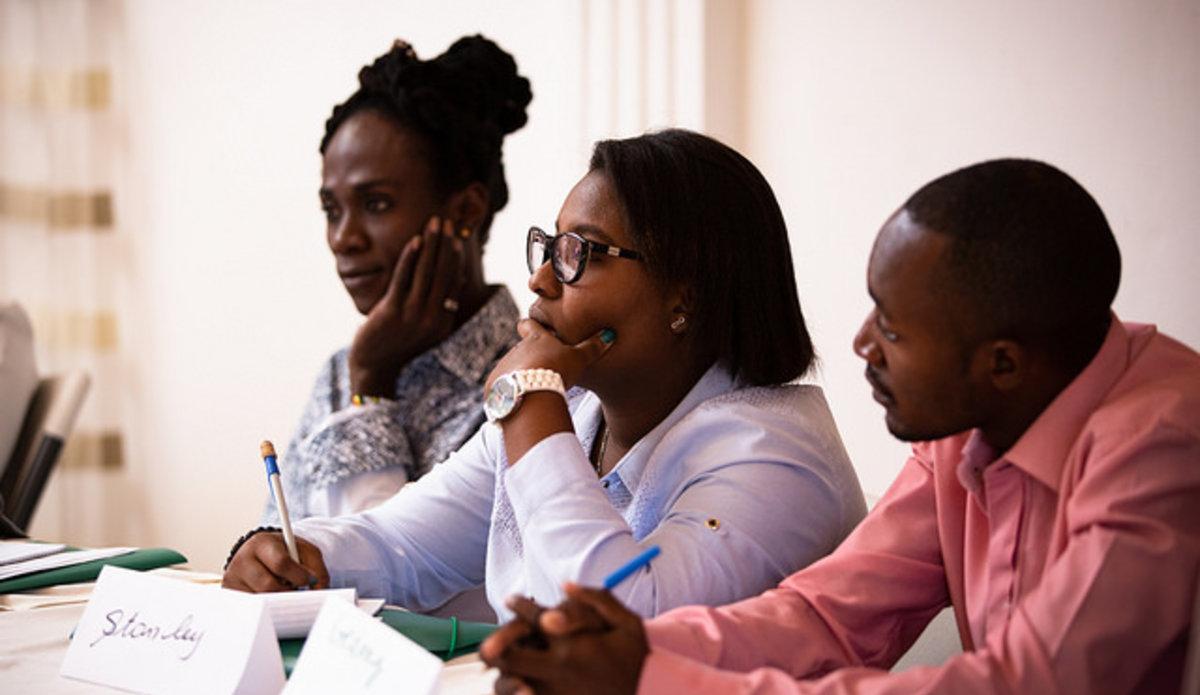 Pendant 4 jours, les équipes de la section droits de l'homme de la MINUJUSTH ont formé les équipes de l'OPC aux techniques de monitoring et d'enquêtes. © Leonora Baumann / UN / MINUJUSTH, 2018