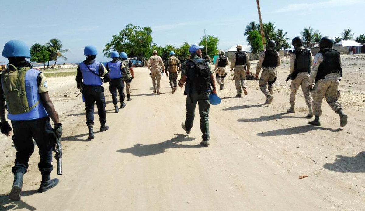 FPU Sénégal en patropuille conjointe ave  la PNH