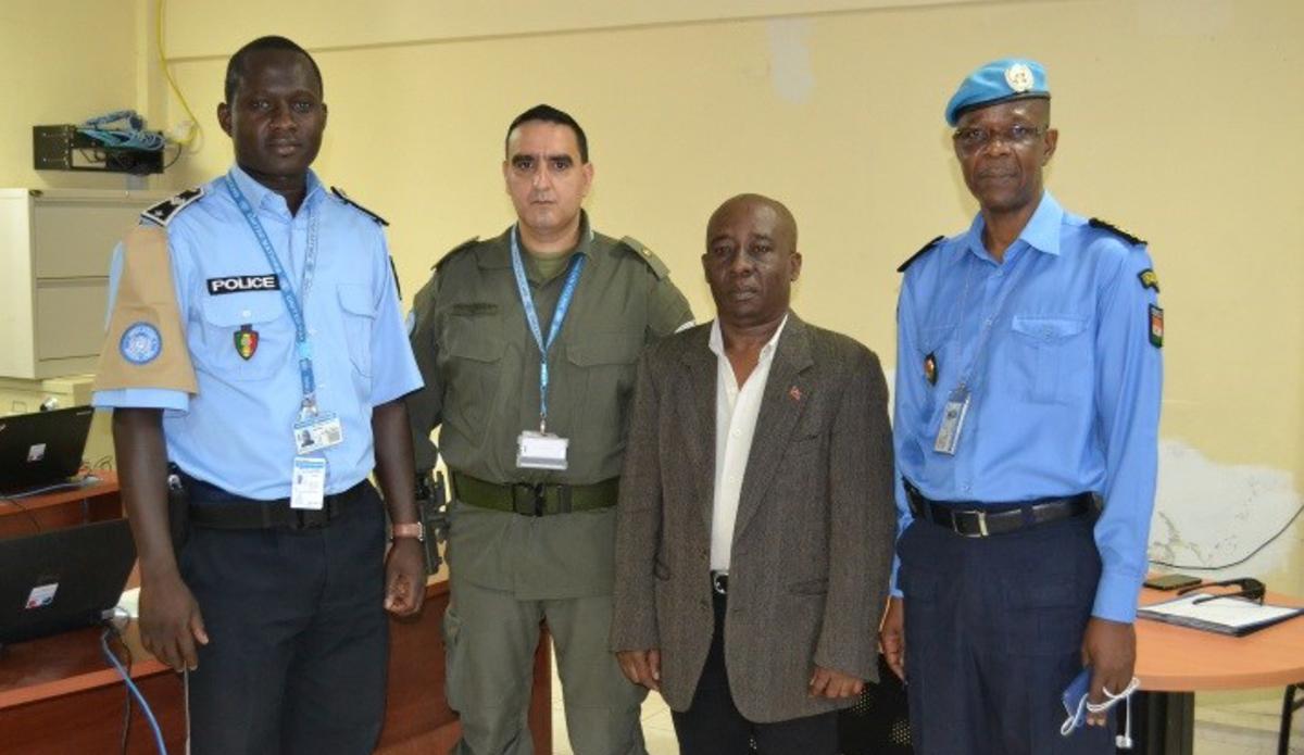 14 policiers de la Police judiciaire ont suivi une formation pour renforcer les capacités en termes d'analyse et d'enquête. © UNPOL Comlan Flavien Dovonou / UN / MINUJUSTH, 2018