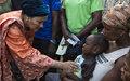 Communiqué de presse – 8 novembre 2017 : Haïti et les Nations Unies unis pour parvenir à zéro transmission du choléra et améliorer l'accès à l'eau, à l'assainissement et aux soins de santé