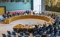 Le Conseil de sécurité confirme le retrait de la MINUJUSTH en octobre 2019
