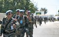 Departure of the Indian peacekeepers after 11 years of supporting the Haitian police