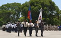 24e anniversaire de la PNH : 15 ans de professionnalisation avec l'appui de la MINUSTAH et de la MINUJUSTH