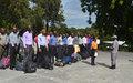 Renforcement des effectifs de la PNH : entrée de la 30eme promotion des aspirants à l'école de police