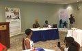 Développement : un atelier de réflexion pour inclure davantage les personnes handicapées