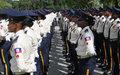 656 nouvelles recrues de la 30e promotion de la Police nationale d'Haïti