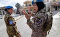 Maintien de la paix : la présence des femmes est une source d'efficacité, estime António Guterres
