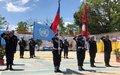 Départ des policiers népalais après 15 ans d'appui à la PNH