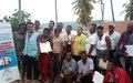 60 militants de défense des droits humains formés à Jérémie et aux Gonaïves pour le suivi et le rapport des violations en partenariat avec l'OPC, les commissariats et les prisons