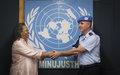 COMMUNIQUE DE PRESSE  / Visite officielle du Conseiller des questions de police des Nations Unies, Luís Carrilho