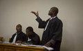 Qu'est-ce que l'état de droit ? La MINUJUSTH rappelle les grands principes
