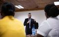 un atelier pour sensibiliser les médias en Haïti