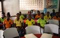 La MINUJUSTH soutient des jeunes de Cap-Haïtien dans la formation professionnelle et l´auto-emploi pour la réduction de la violence