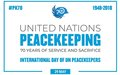 The Secretary General – Message on the International Day of United Nations Peacekeepers