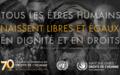 Le Secrétaire général – Message à l'occasion de la Journée des droits de l'homme