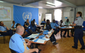 MINUJUSTH Police component sensitizes staff on the fight against sexual exploitation and abuse