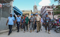 La Chef de la MINUJUSTH rend visite aux policiers internationaux de Jérémie et de Miragoâne